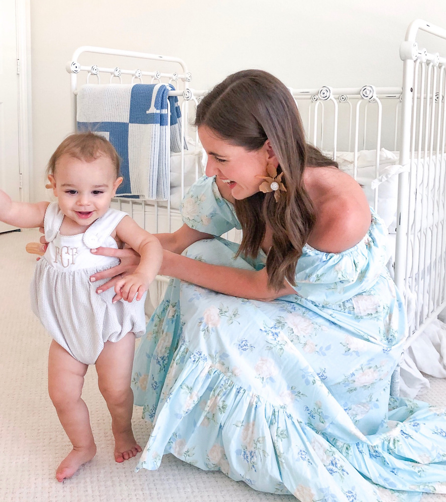 mom with happy baby