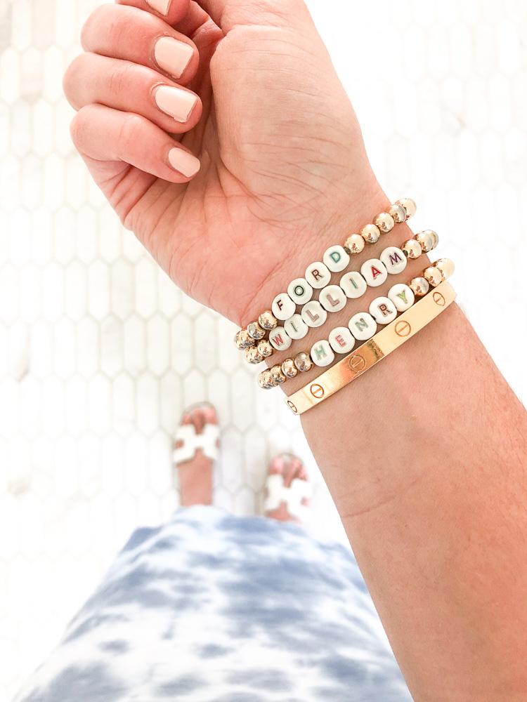 personalized name bracelets
