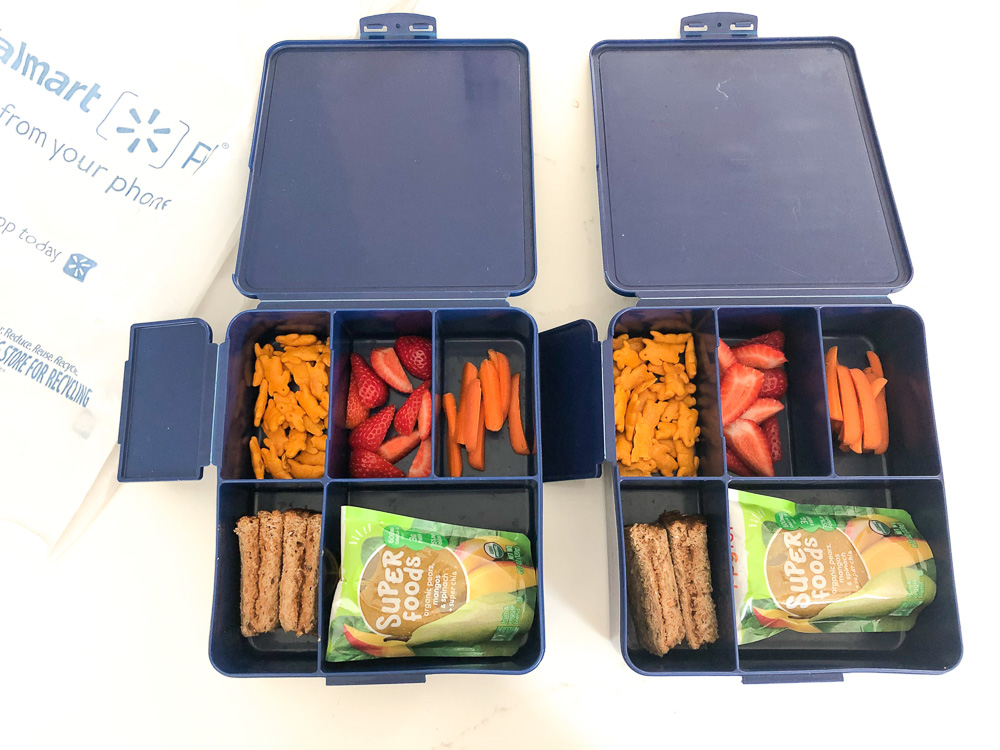 bento box lunches for pre-schoolers