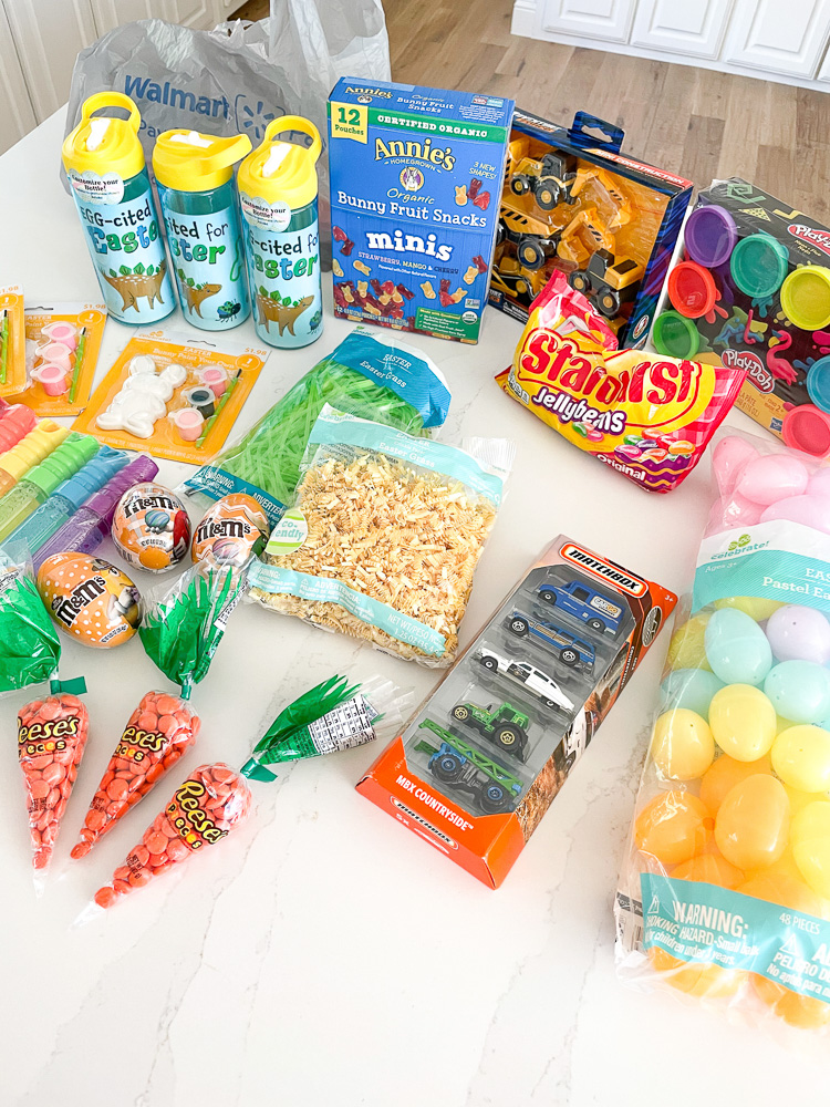 easter basket goodies from walmart