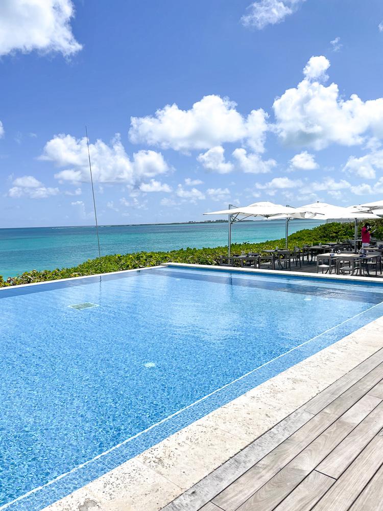 view from beach pool the ocean club