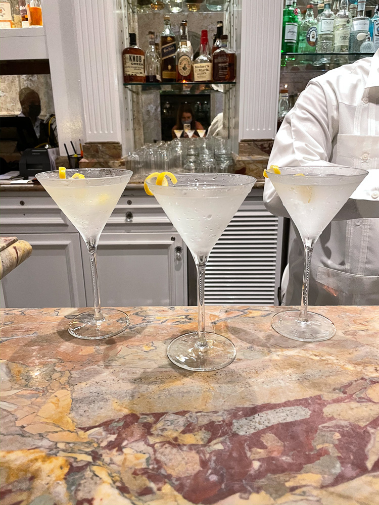 lemon drop martinis martini bar the ocean club bahamas