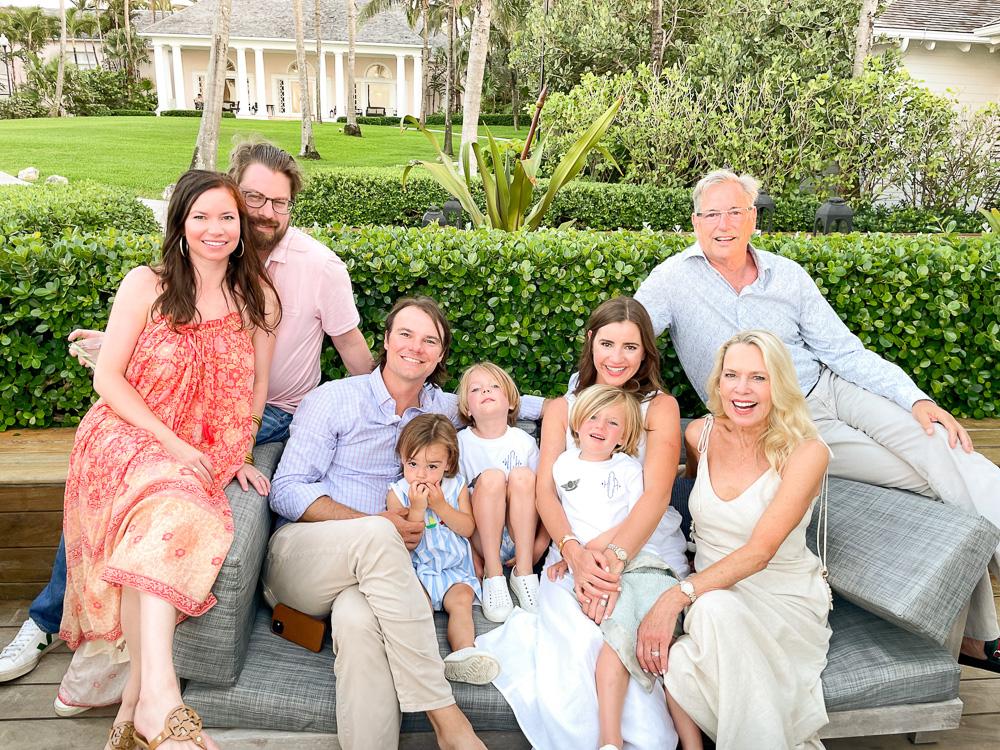 family portrait the ocean club bahamas