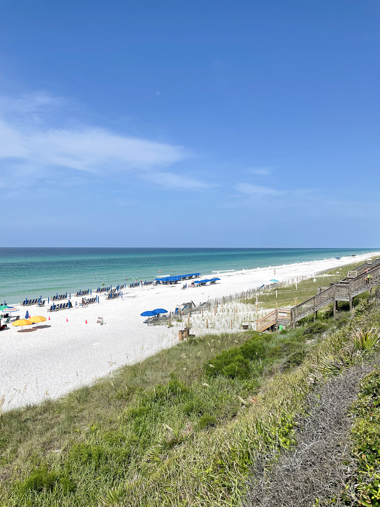 beach scape in 30A florida
